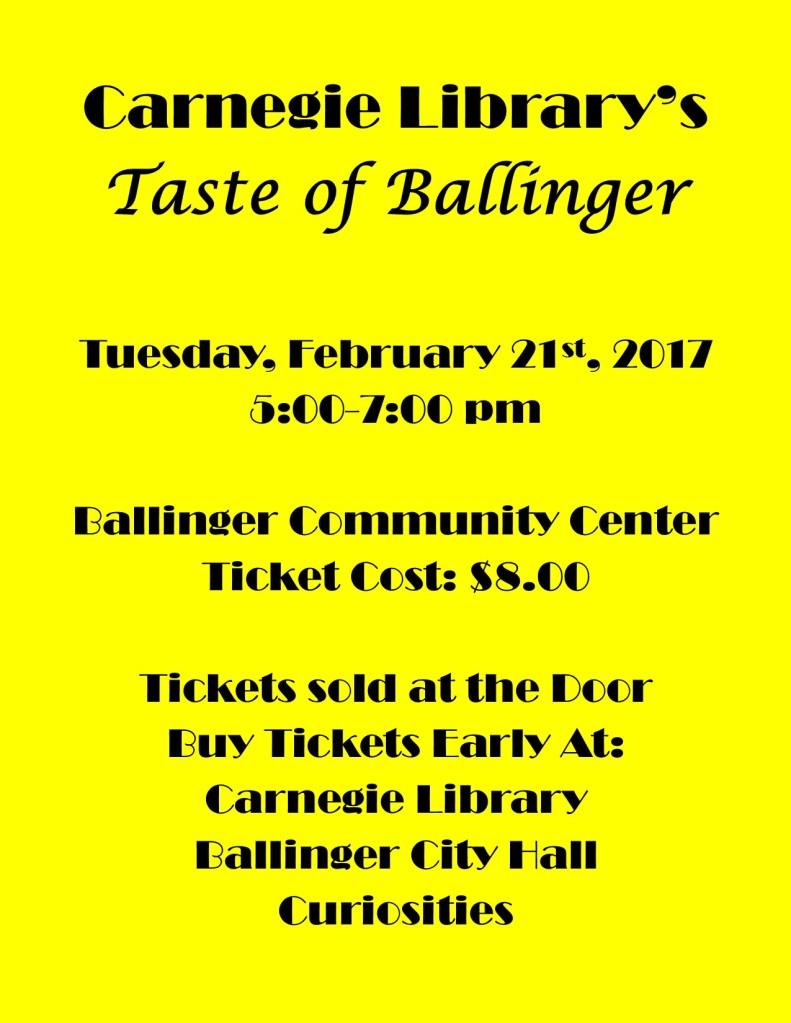 taste-of-ballinger