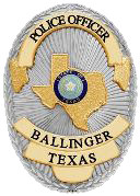 BALLINGER POLICE DEPARTMENT